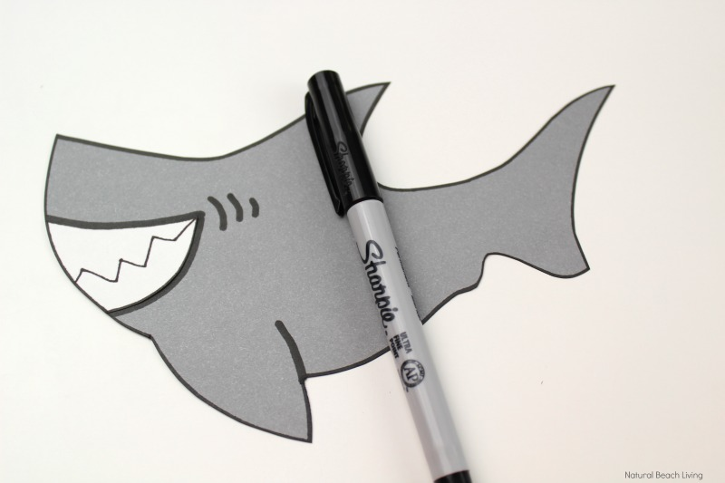 photo regarding Printable Shark Template identify Shark Craft for Preschool and Kindergarten with Free of charge Shark