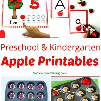 30+ Free Apple Printables for Preschool and Kindergarten