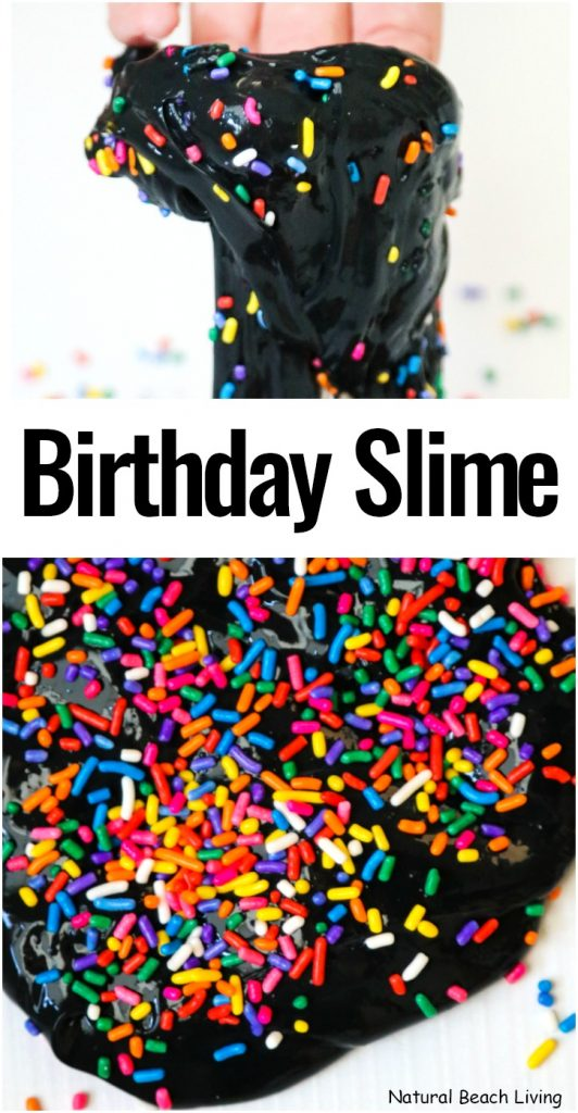 How to Make Black Slime and How to make slime with glue and paint, An Easy Birthday Slime, This Rainbow Slime starts with a basic black slime recipe all you need is 4 ingredients. You'll have a black super jiggly slime recipe everyone will want to play with.