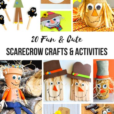 20+ Scarecrow Crafts and Activities for Kids