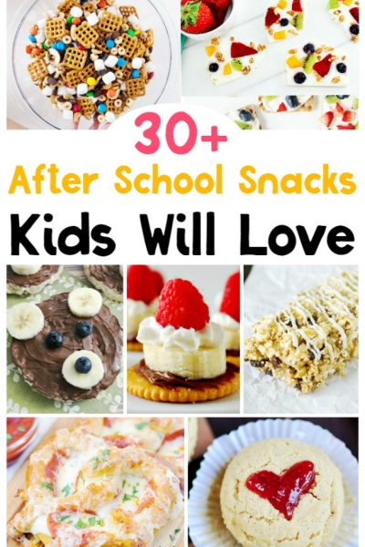 30+ School Snacks for Kids – After School Snack Ideas
