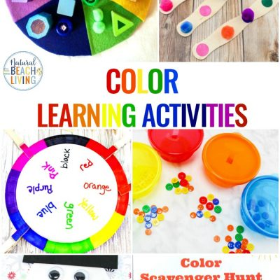 Color Activities for Toddlers, Preschool and Kindergarten