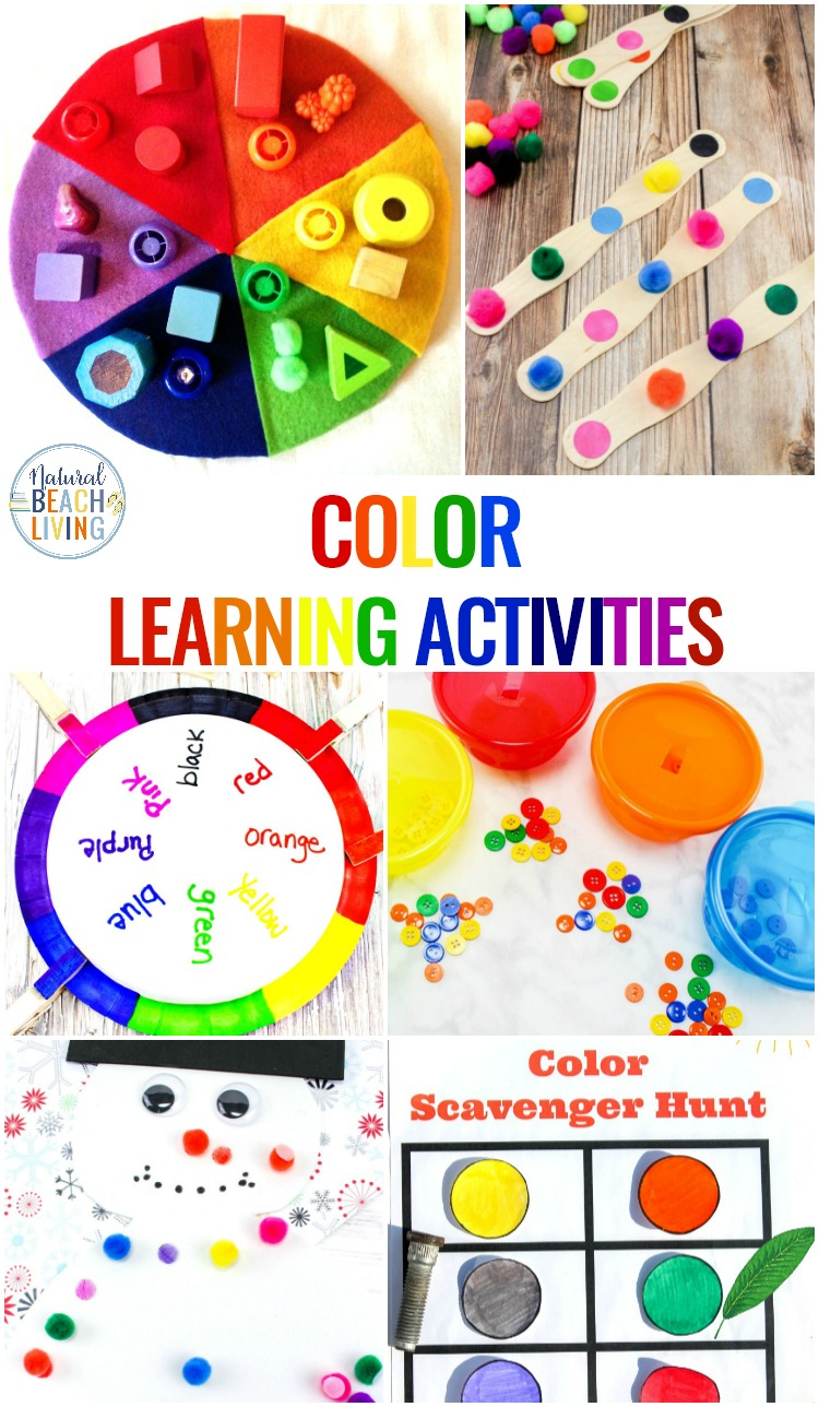 25 preschool color activities printables learning colors printables natural beach living. Black Bedroom Furniture Sets. Home Design Ideas