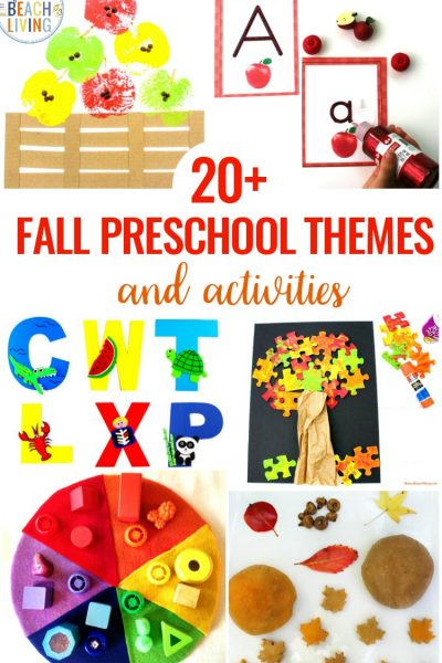 20+ September Preschool Themes with Lesson Plans and Activities