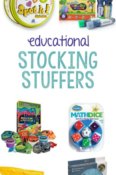 27+ Educational Stocking Stuffers for Kids