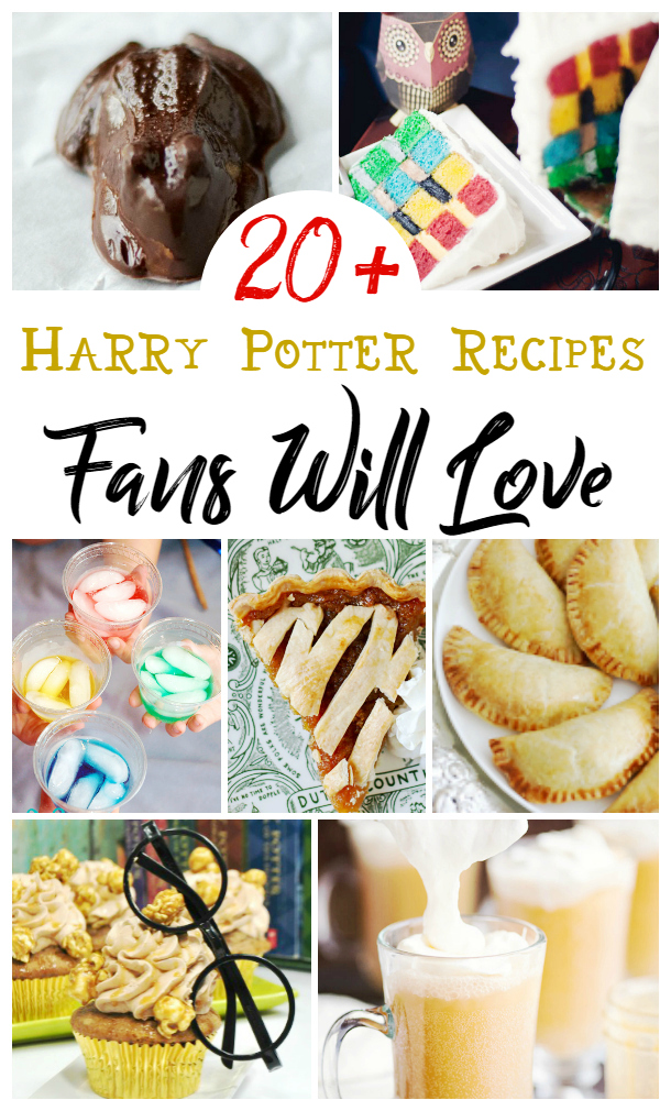 Harry Potter Drinks and Treats, Harry Potter Themed Food and Drinks, Perfect Food for a Fantastic Beasts viewing party, or looking for Harry Potter Recipes here are magical Harry Potter Snacks and Party Ideas everyone will love