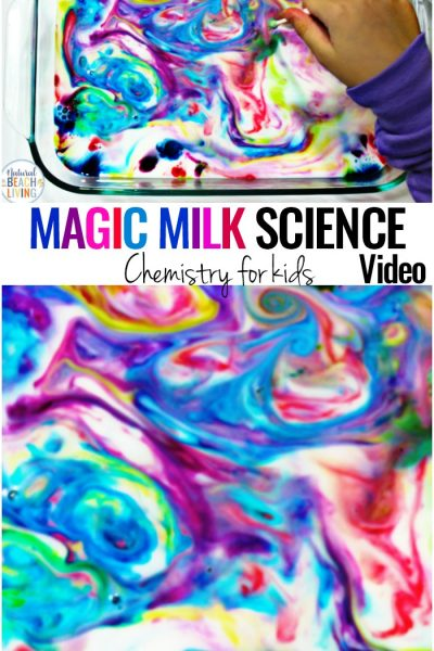 Magic Milk Science Experiment for Kids with Video – Montessori Science