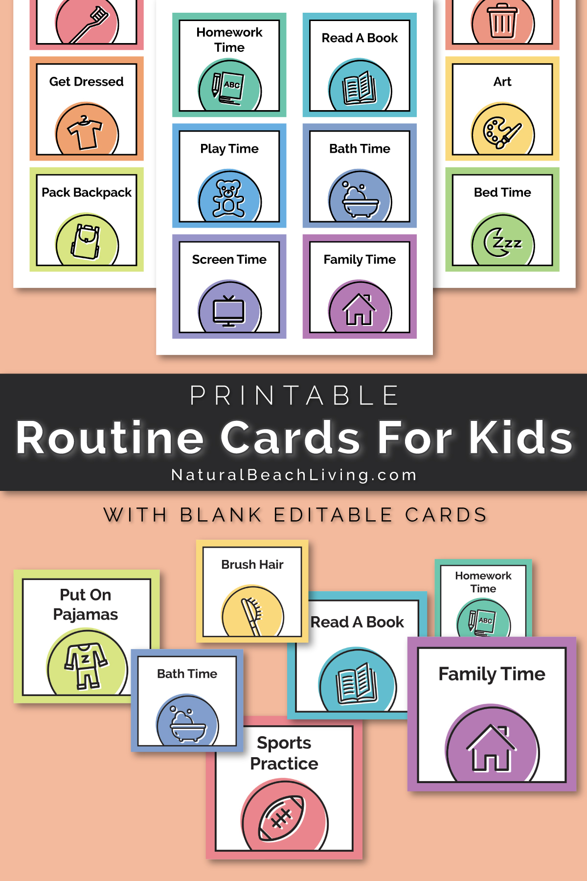 photograph relating to Printable Workouts Routines identify Visible Timetable - No cost Printable Program Playing cards - Organic and natural