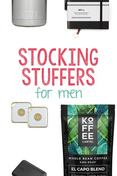 25+ Stocking Stuffers for Men and Teen Boys