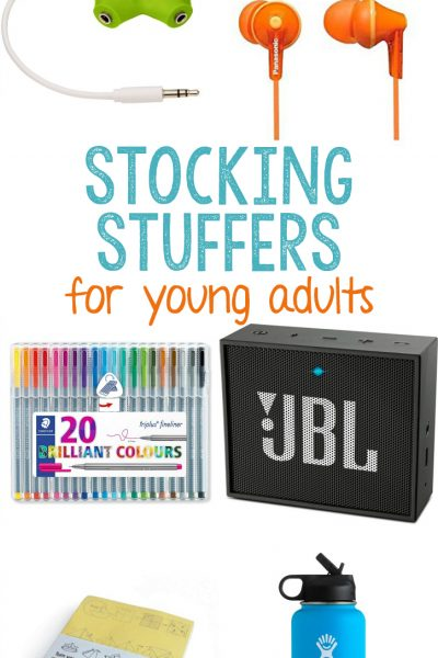 37 Stocking Stuffers for Young Adults