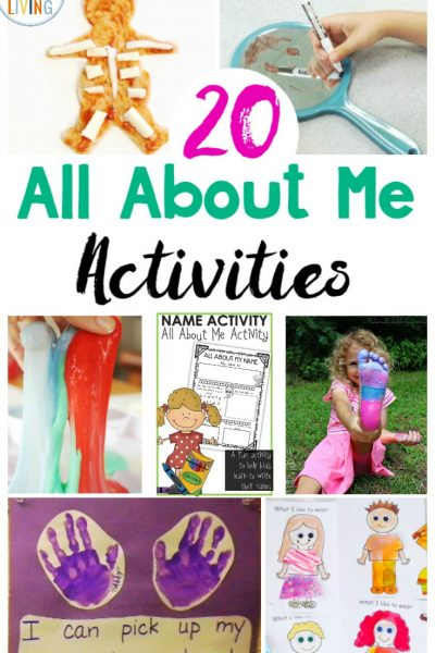 25+ All About Me Preschool Theme Activities