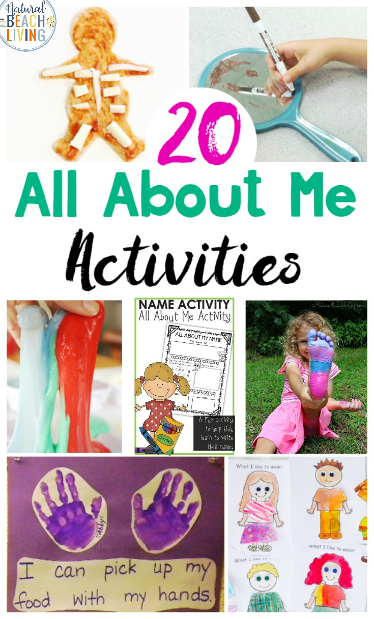 All About Me Preschool Theme Activities, All About Me Activities are perfect for Preschool and Kindergarten. This is the age they are interested in their bodies, and it's the ideal time to introduce emotions, human body parts, and all of the things for All About Me Preschool Theme Printables, All About Me Kindergarten