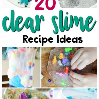 25+ Clear Slime Recipe Ideas That Will Make You a Slime Fan