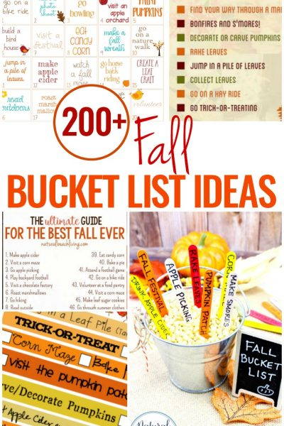 200+ Fall Bucket List Ideas – Fall Themes and Activities for Kids and Families