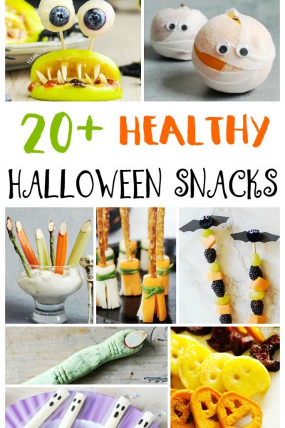 25+ Healthy Halloween Snacks for Kids
