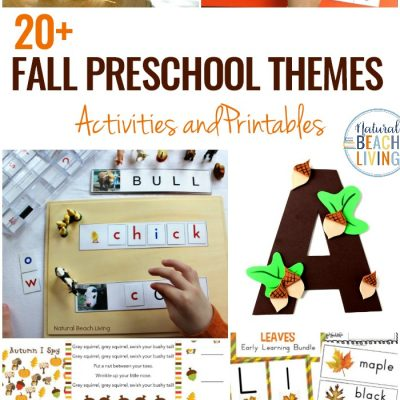 20+ October Preschool Themes with Lesson Plans and Activities