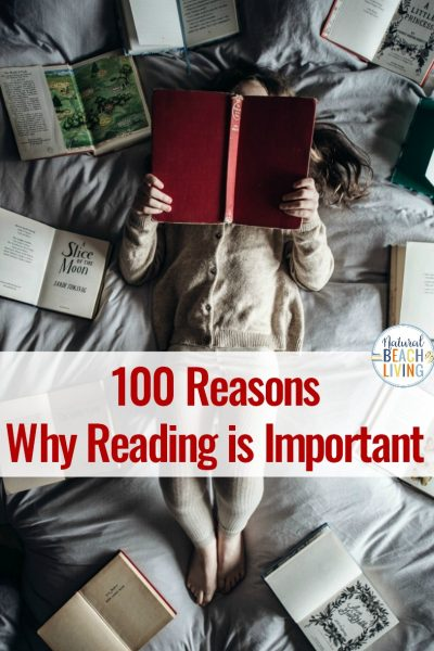100 Reasons Why Reading is Important