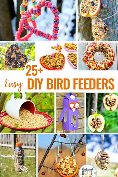 25 Homemade Bird Feeders