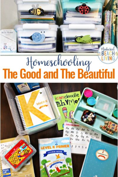 The Good and The Beautiful – Curriculum – Organization and More