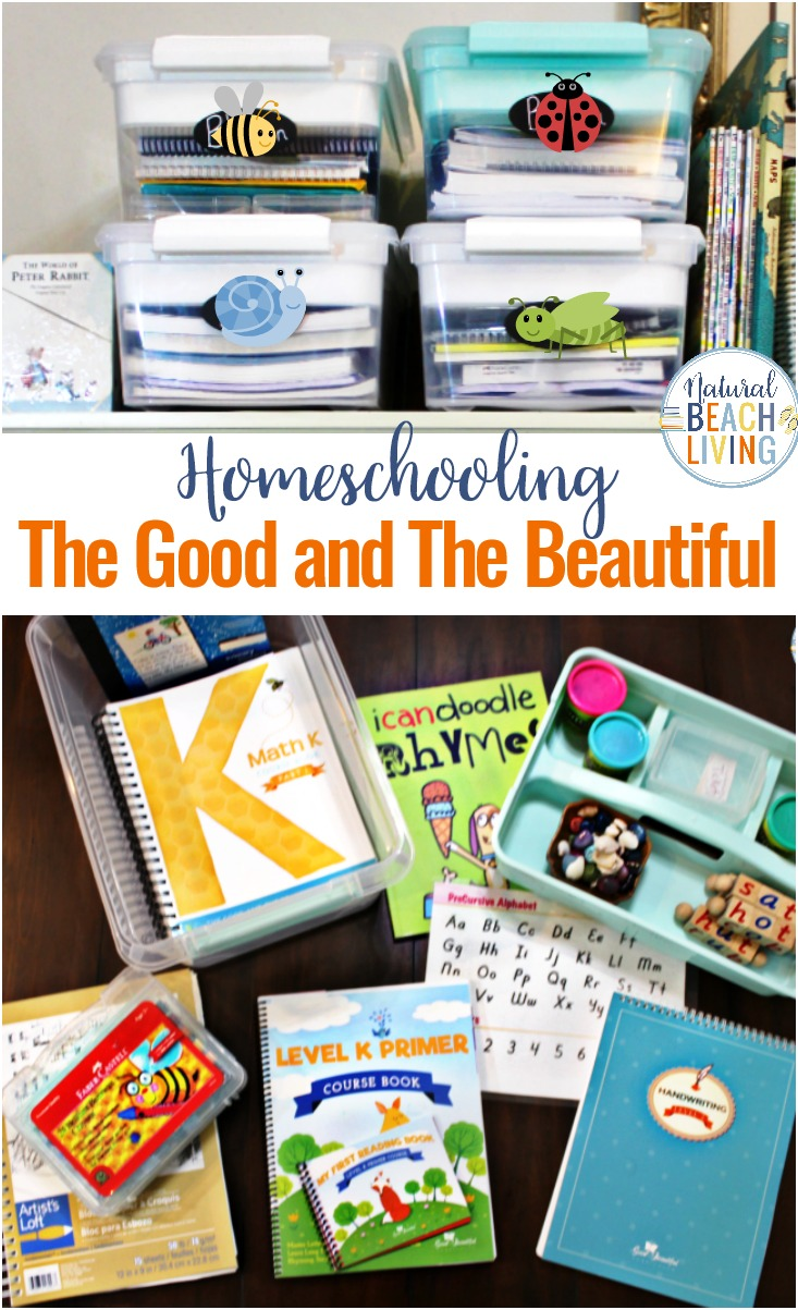 The Good and The Beautiful, Everything you want to know about The Good and The Beautiful Curriculum, The Good and The Beautiful language arts and reviews on the homeschool curriculum, The Good and The Beautiful Organization, Pre k and Kindergarten