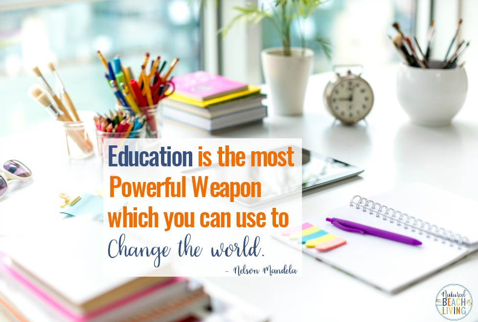 Nelson Mandela Inspirational Quote, 10 Reasons Why Education is Important, The importance of education and how Education plays a significant role in every person's life, How important education is and the importance of reading