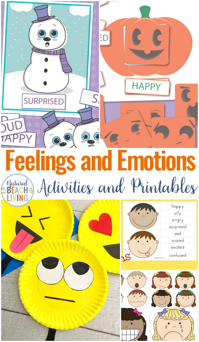 The Best Emotions Printables and Feelings Printables, Plus, Books and Activities on Managing feelings and Emotions, Today I Feel Free Printables that are perfect for children of ages and work great for children with Special Needs and Autism.