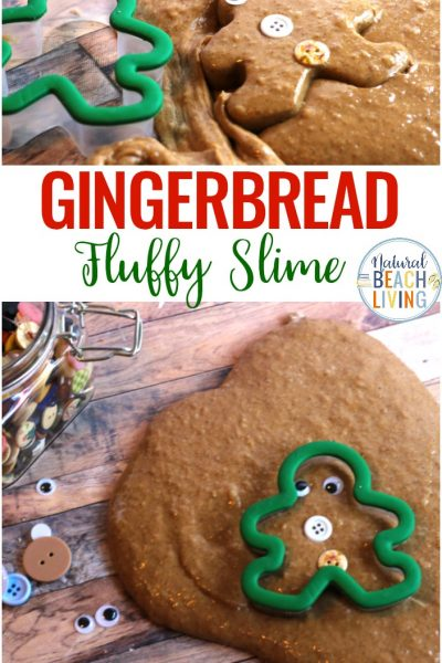 Gingerbread Slime Recipe with Contact Solution