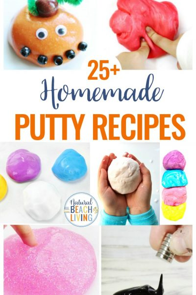 25+ Homemade Putty Recipes Everyone Will Love