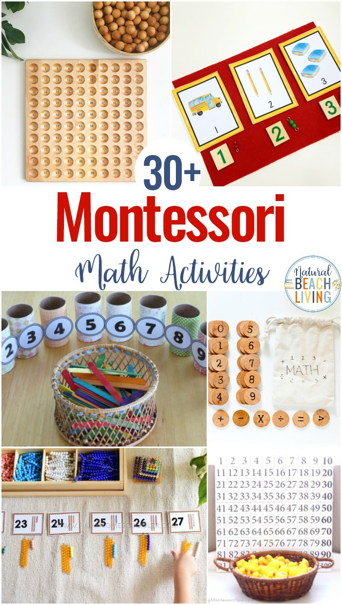 30 Montessori Math Activities For Preschool And Kindergarten