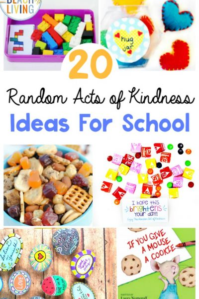 25+ Random Acts of Kindness Ideas for School