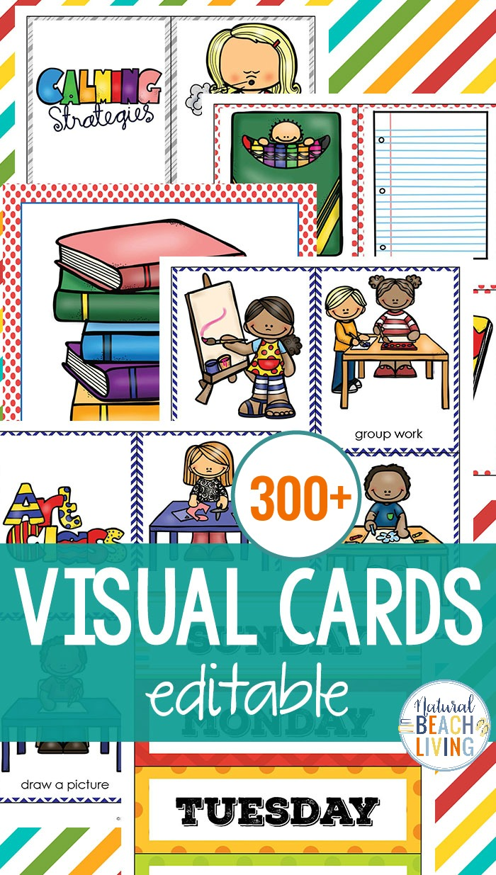 Visual Schedule Printable Ultimate Bundle for multi ages and keeping kids on task, Picture Schedule, Autism Visual Schedule printables and Routine Picture Cards, Visual Schedule Pictures for Home and School with EDITABLE Visual Schedule