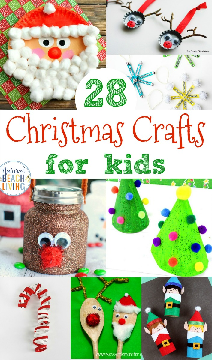 30+ Christmas Crafts for Kids - Natural Beach Living