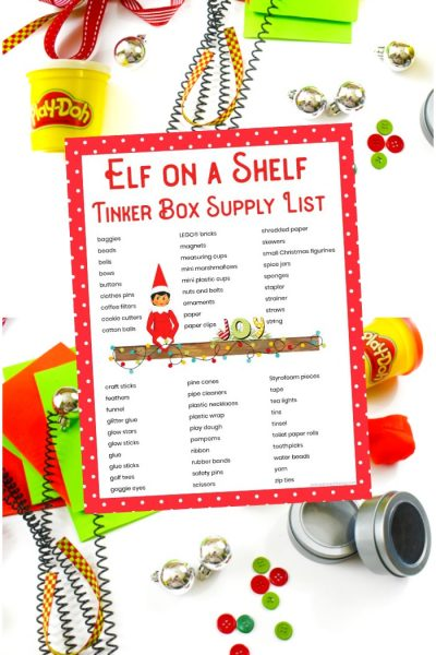 Elf on the Shelf STEM Activities