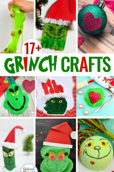17+ Grinch Crafts and Activities for Kids