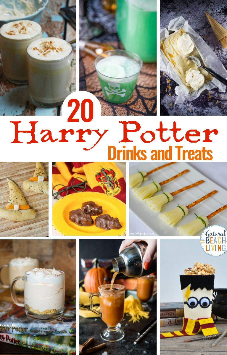 Harry Potter Drinks and Treats, Harry Potter Themed Food and Drinks, Perfect Food for a Fantastic Beasts viewing party, or looking for Harry Potter Recipes here are magical Harry Potter Snacks and Party Ideas everyone will love.