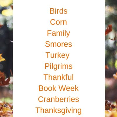 18+ November Preschool Themes with Lesson Plans and Activities