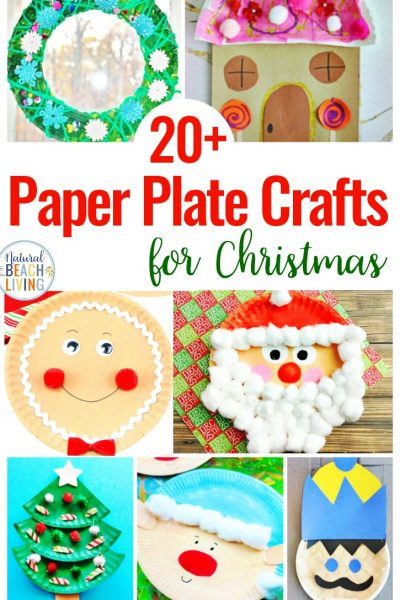 21+ Paper Plate Crafts for Christmas