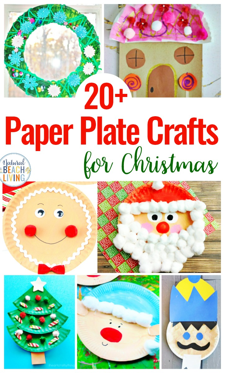 21 Paper Plate Crafts For Christmas Natural Beach Living