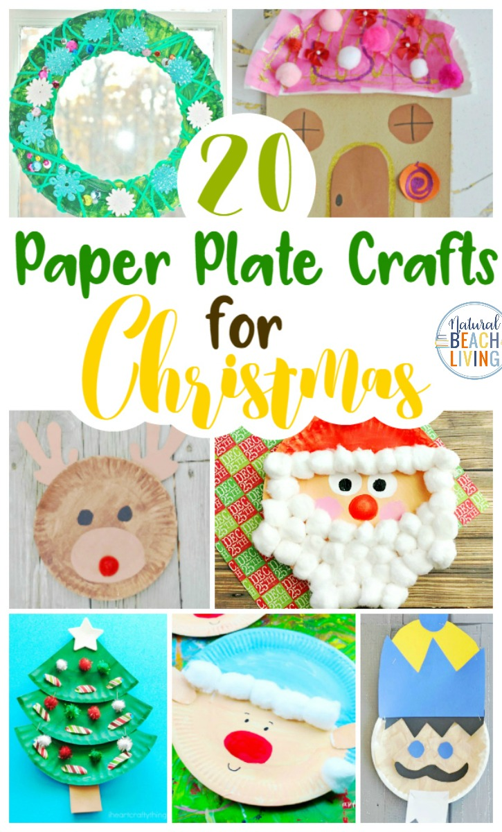 21 Paper Plate Crafts for Christmas, The best Christmas Paper Plate Crafts, You'll find all of the Paper Plate Christmas Craftsthat you need for a variety of Christmas themes, Gingerbread craft, Santa craft, Christmas tree craft, An angel paper plate craft, elf craft and more.