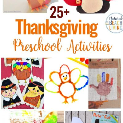 25+ Preschool Thanksgiving Activities and Crafts