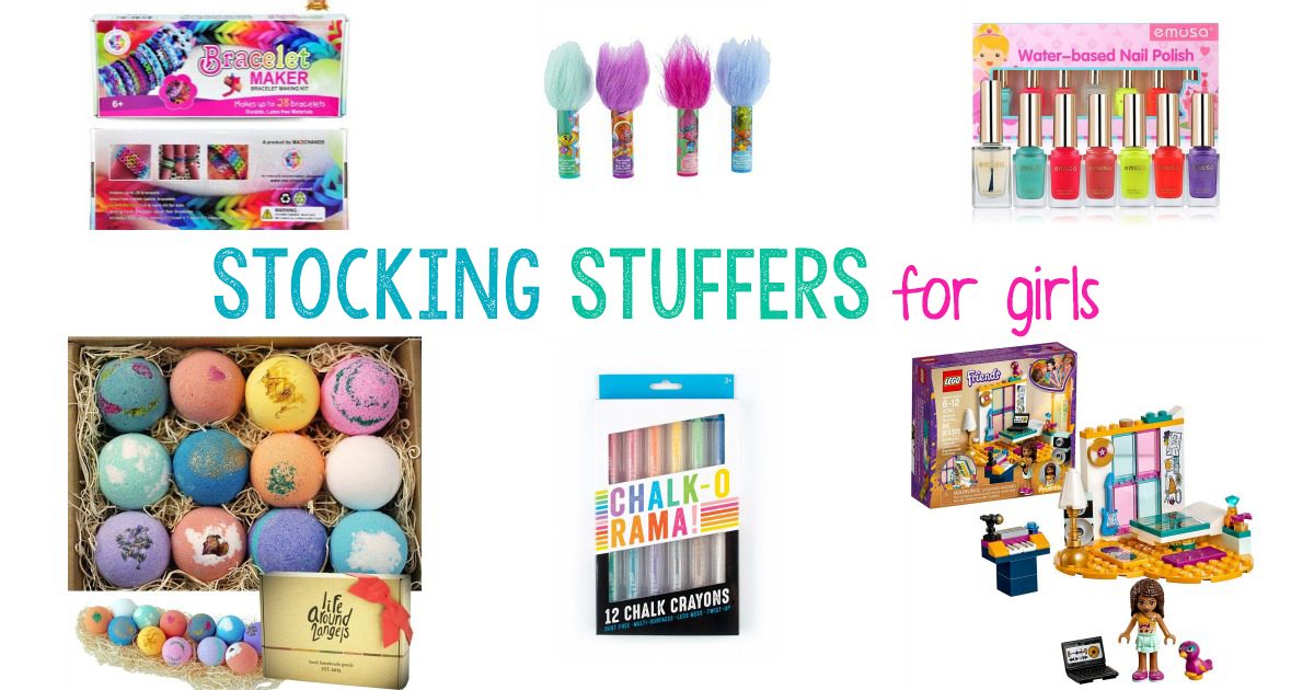 These Stocking Stuffers for Girls are hand picked gift ideas that we know will be loved. Stocking Stuffers Ideas, Whether you are looking for stocking stuffers for your tweens or your preschoolers, you will find something fun on this list that kids will love.