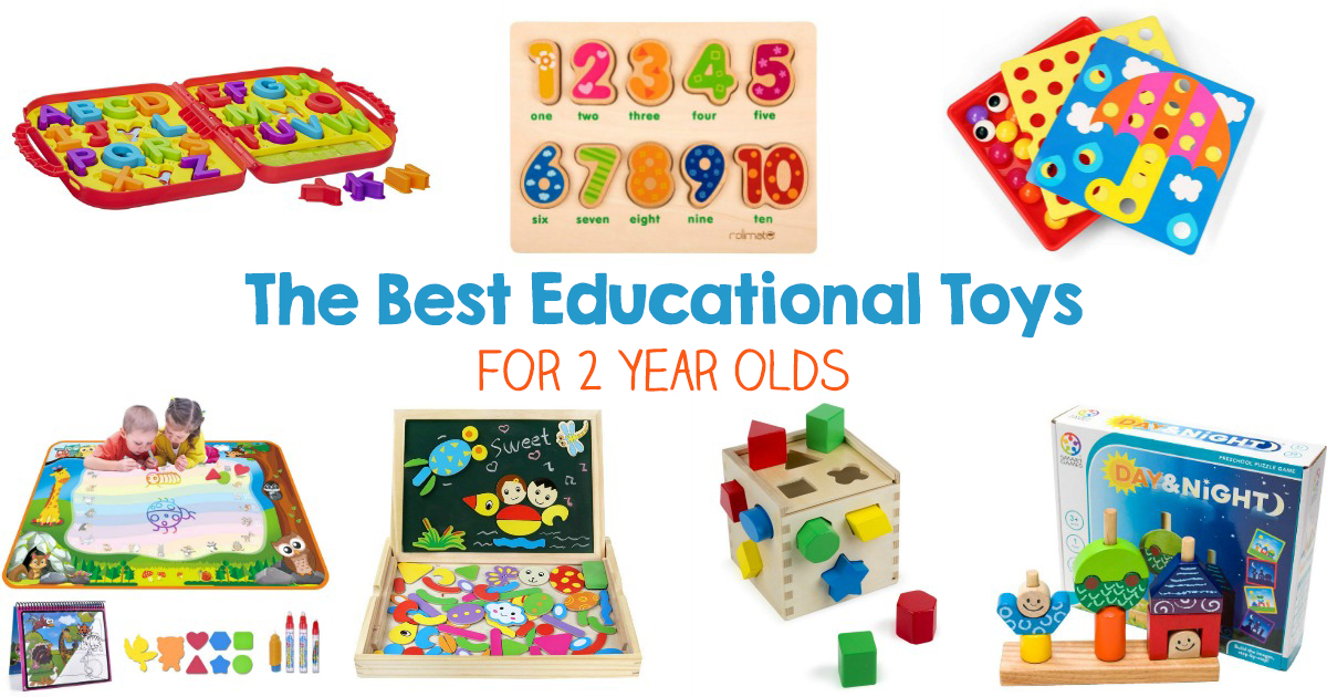 32+ Educational Toys for 2 Year Olds, Best Educational Toys for 2 Year Olds inspire creativity, work on child development skills, logic, imagination and more. Toys for Toddlers and Preschoolers, Toddler books, These toddler toys inspire children