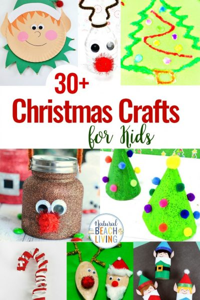 30+ Christmas Crafts for Kids