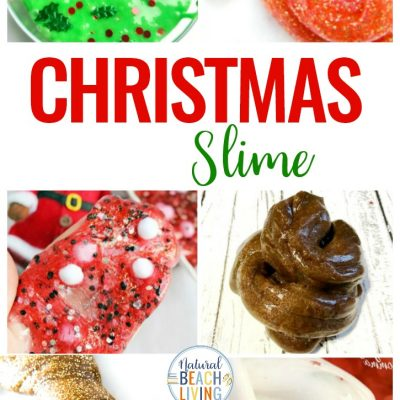 20+ Christmas Slime Recipes You'll Love Playing With
