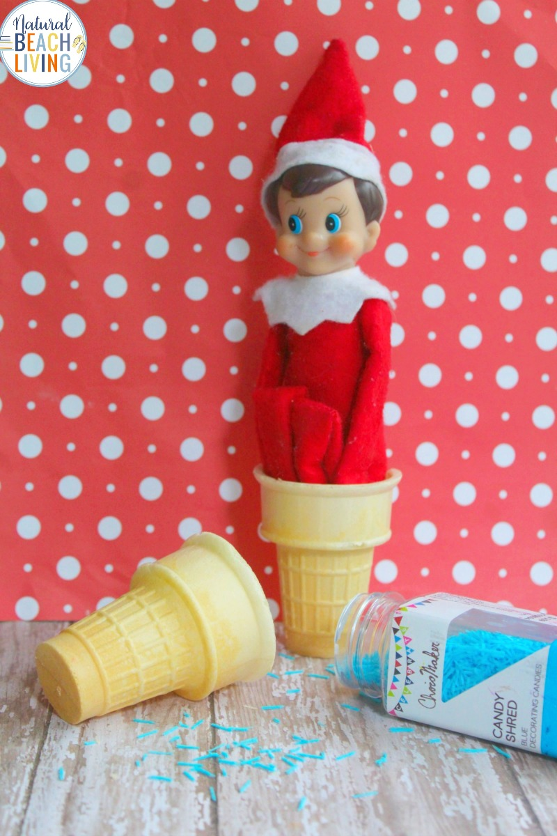 Elf On The Shelf Ideas For The Kitchen Natural Beach Living
