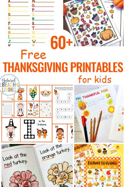 60+ Free Thanksgiving Printables for Kids