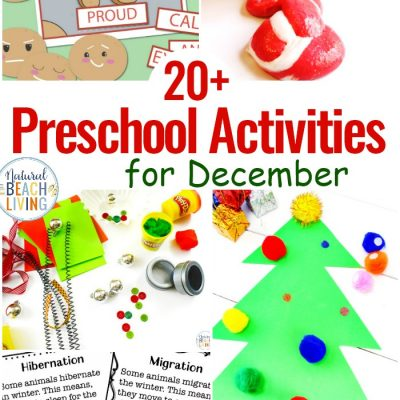 20 December Preschool Themes with Lesson Plans and Activities