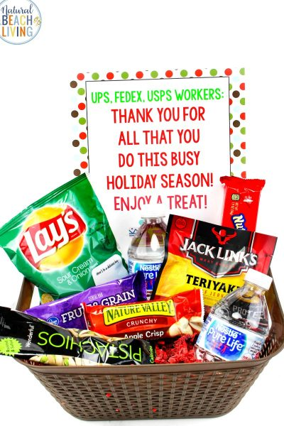 Random Acts of Kindness Christmas Thank You Basket
