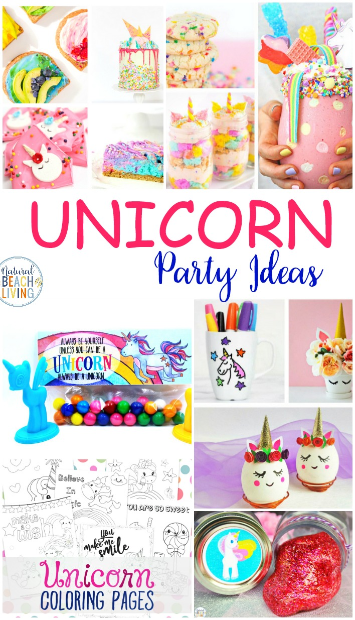 50+ Unicorn Activities and Unicorn Party Activities, Unicorn Printables, Unicorn Theme ideas