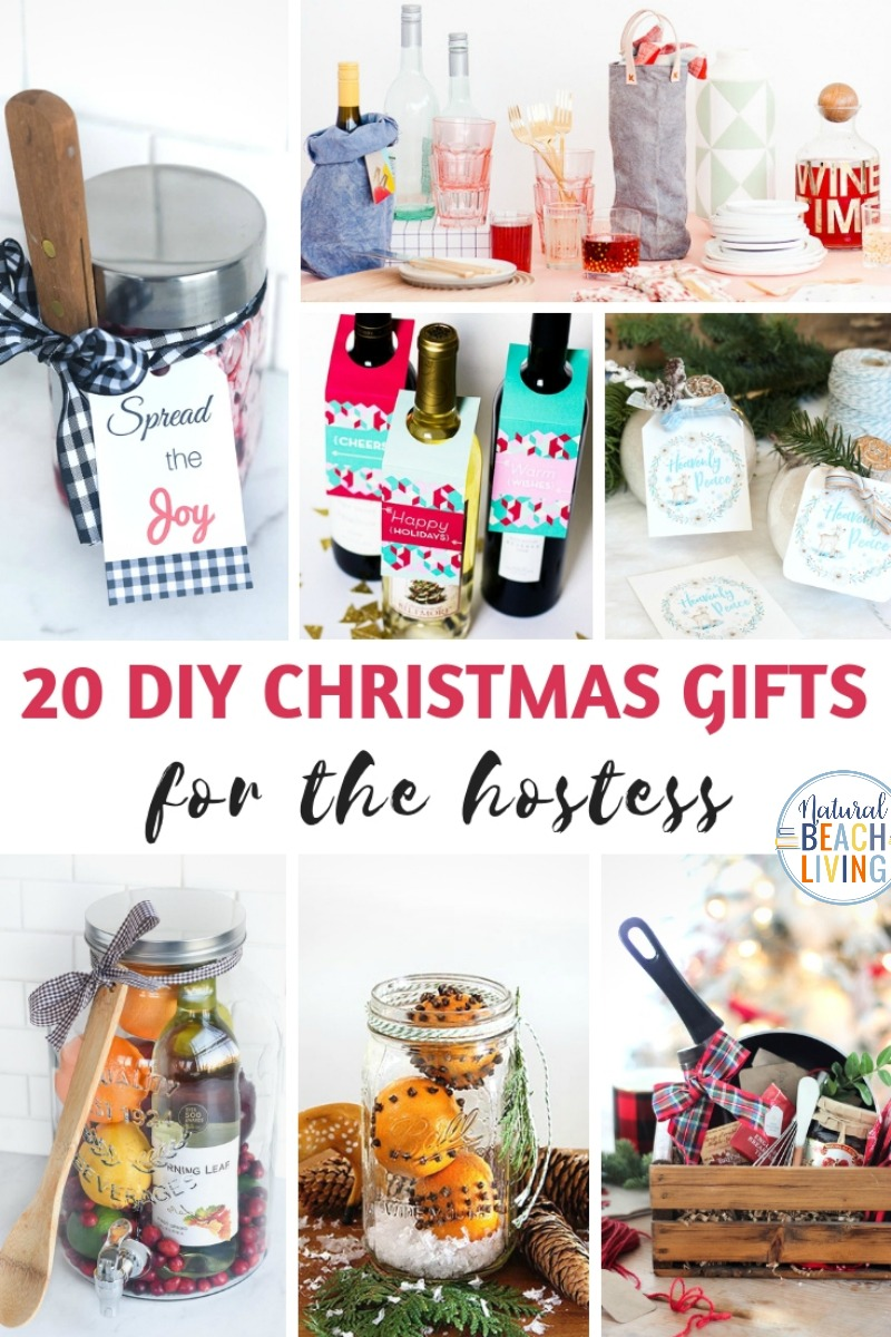 21+ DIY Christmas Gifts, Hostess Gift Ideas, Creative Christmas gifts including easy mason jar gifts, homemade foodie gifts, unique gift ideas and gifts for coworkers, DIY Christmas Gifts for friends and the person that seems to have it all. Hostess Gifts for Christmas